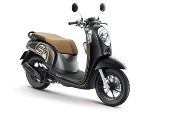 Rental Scooter Scoopy